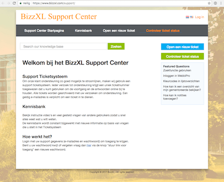 bizzxl support center